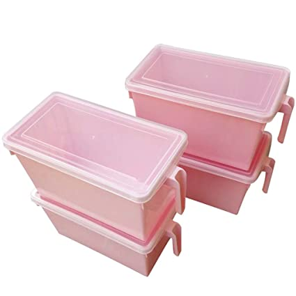 Amazon Com Set Of 4 Clear Kitchen Storage Containers By