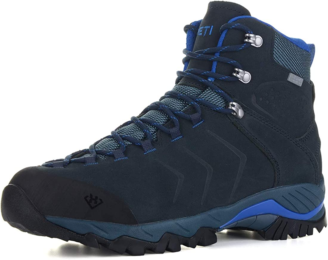 XPETI Men s Yellowstone Water-Resistant Leather Hiking Boot