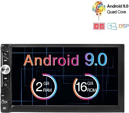 Freeauto Android 9.0 2 DIN Autoradio Universal, GPS Navegador ...