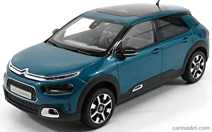 Citroen C4 Cactus >> Amazon Com Norev 2018 Citroen C4 Cactus Emeraude Blue 1 18