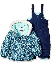 OshKosh baby-girls Baby Girls Navy Infant Girls Hw Snowsuit B2175s15