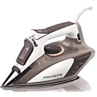 Rowenta 1700-Watt Micro Steam Iron Stainless Steel Soleplate with Auto-Off, 400