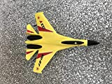 RC Quadcopter, LtrottedJ WLtoys A100 SU-27 3CH 2.4G RC Airplane RTF Glider EPP Composite Material 14+ (Yellow)