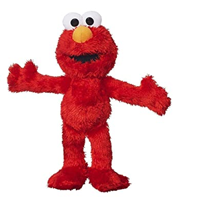 Sesame Street Plush Pal Elmo 8 Inches: Toys & Games