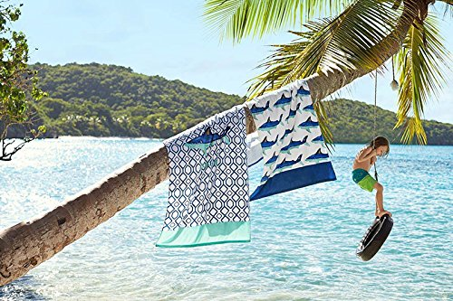 Mangeoo Puro algodón, Toalla de baño, piscina adulto macho engrosamiento, cartoon lady toalla de playa,gris claro solo el pescado plano,160x80cm: Amazon.es: ...