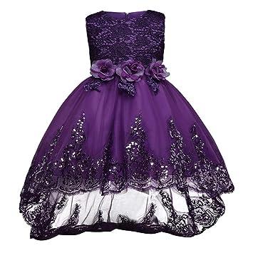 e2ad3e6a057d Vestidos de princesa Vestido de Dama de Honor Vestido de Fiesta para Fiesta  de Cumpleaños Vestido de Niños ...