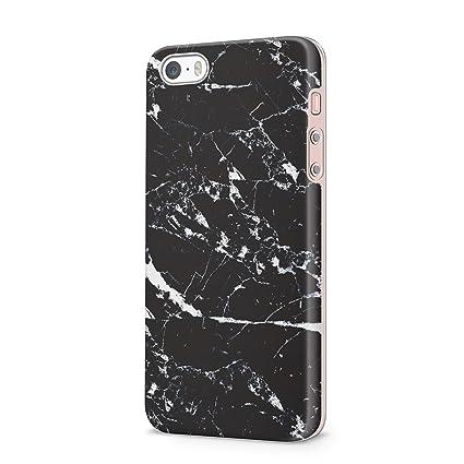 Amazon.com: uCOLOR iPhone SE 5S 5 Funda Abstracta Pastel ...