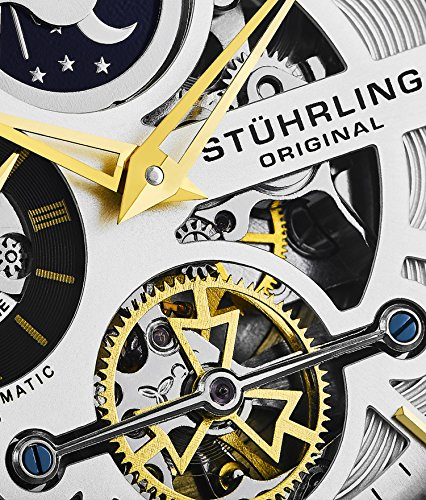 Stuhrling-Original-Skeleton-Dress-Analog-Watch-for-Men-Automatic-Mechanical-Wristwatch-Stainless-Steel-Genuine-Leather-Strap-Black-Dial
