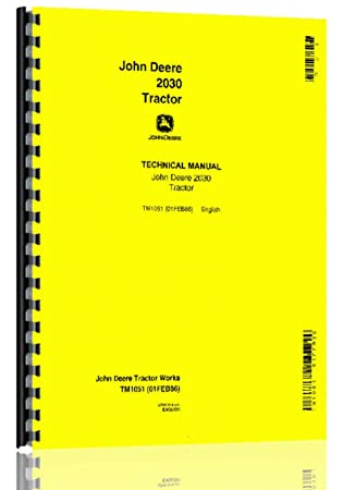 Amazon john deere 1830 canadian 2030 tractor service manual john deere 1830 canadian 2030 tractor service manual fandeluxe Image collections