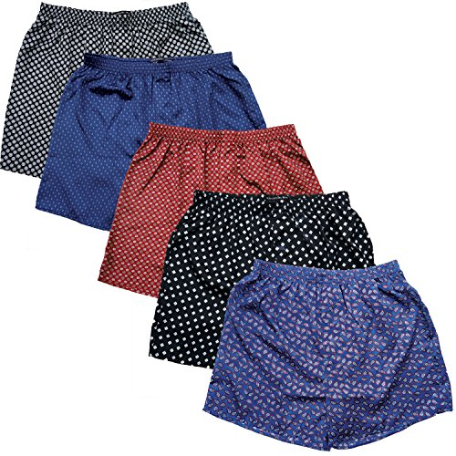 Silk Boxer Shorts For Men - 6