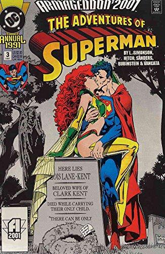 Adventures of Superman #Annual 3 VF/NM ; DC comic book