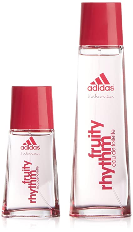 Colonia adidas woman v. 75 fruity rhythm+eau de toilette 30ml est.