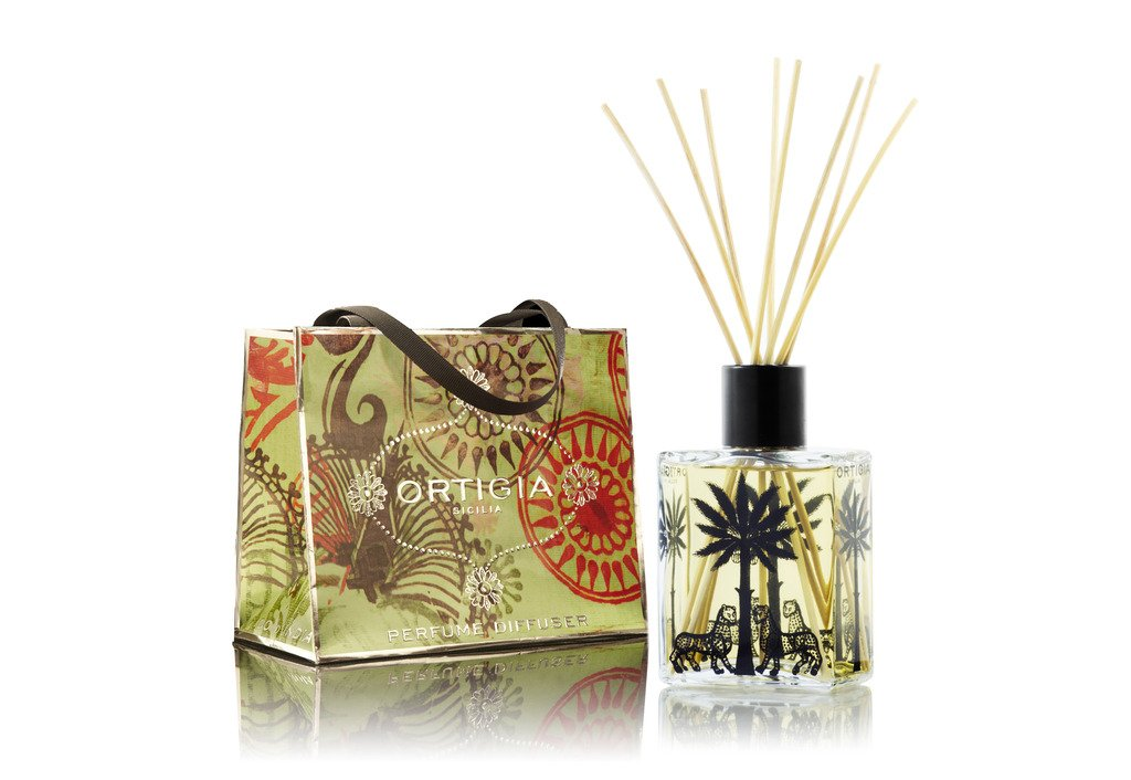 Diffuser Aromatherapy Essential Scented Fragrance Oil on Reeds for Home Fragrance Ortigia Fig