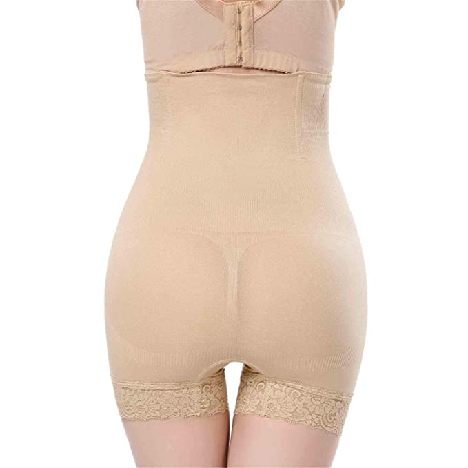 7dbe4bddff986 Desirca Slimming Sheath Shapewear Seamless Women Tummy Body Shaper Brief High  Waist Belly Control Shapewear Pants Shorts at Amazon Women s Clothing store