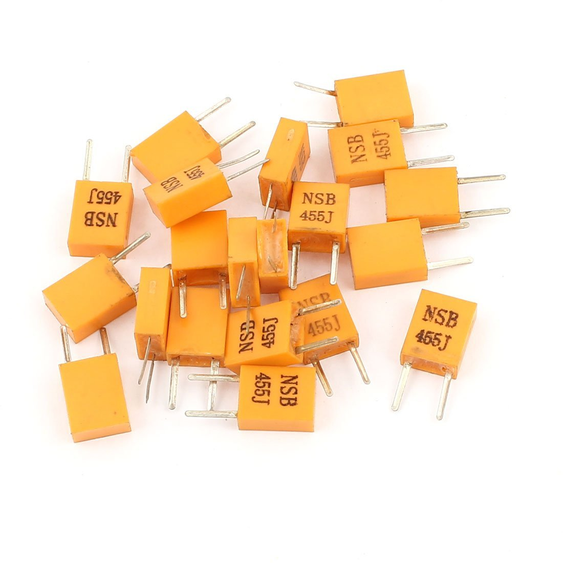 20 Pcs Radial Lead NSB 455J 455KHz Frequency Ceramic Crystal Resonator DealMux DLM-B00SWK0X84