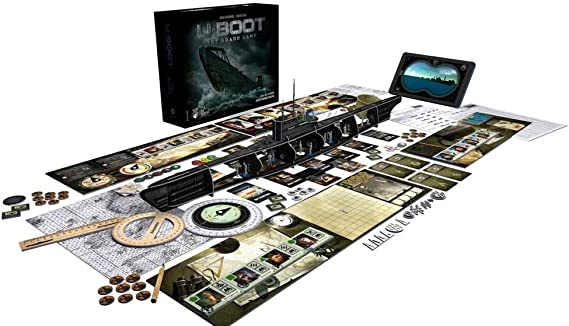 Phalanx Games PPHA07 U-Boot The Board Game, Colores Variados ...