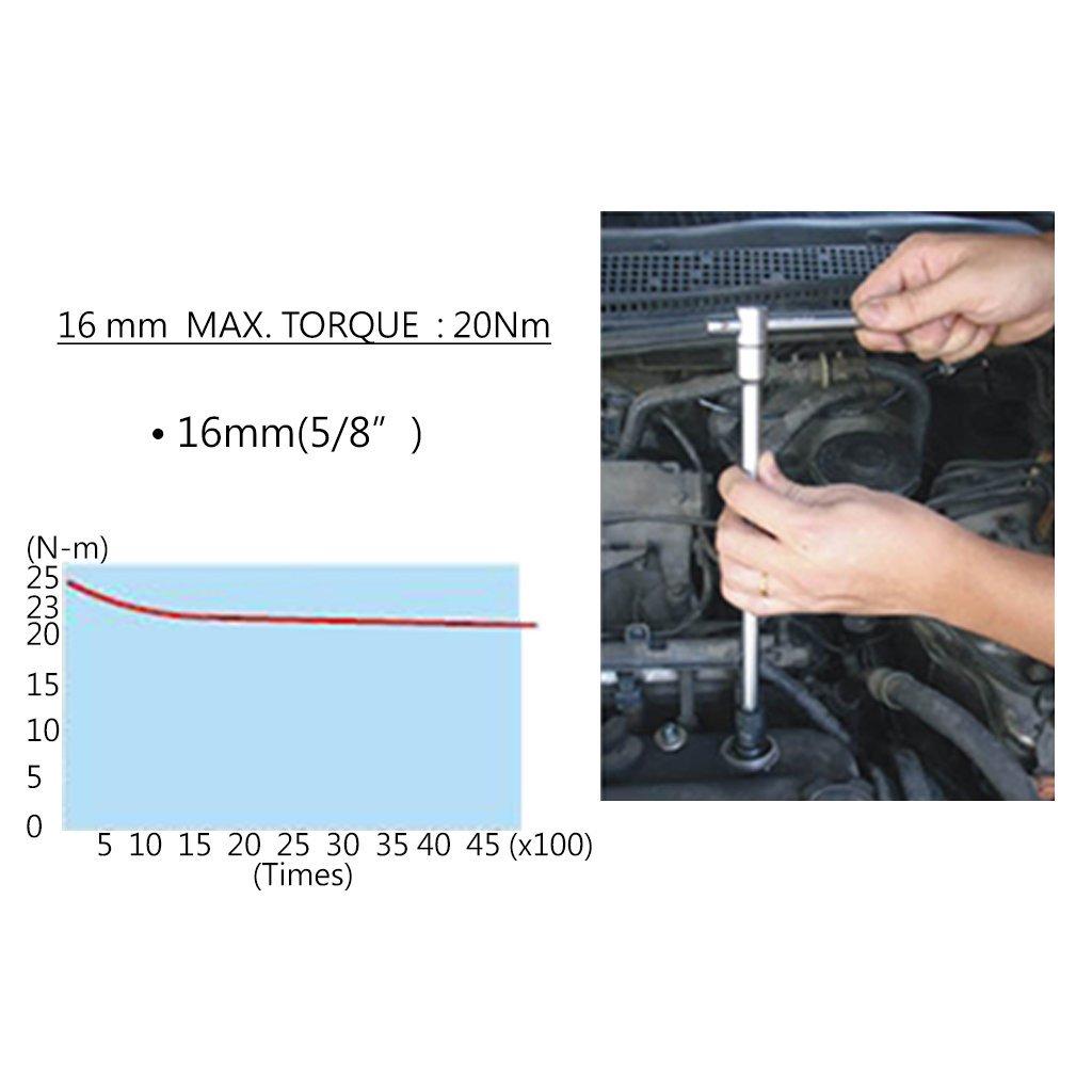 Morffa 4800N.m Schlagschrauber Hochleistungs 1 Inch Vierkant Druckluft Schlagschrauber mit 8 Inch Amboss Schlagschrauber