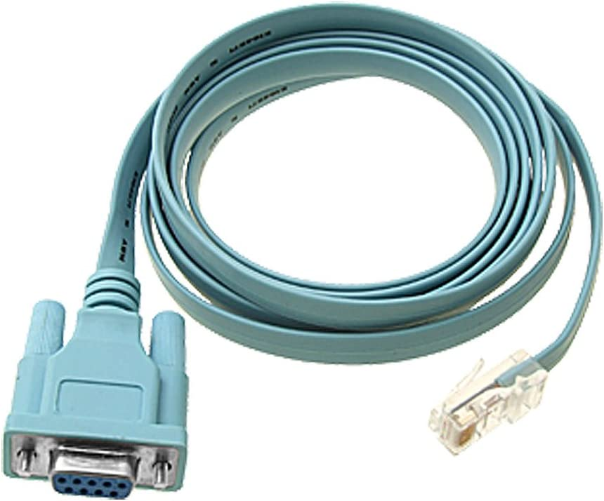 for Cisco Router Line Card 72-3383-01 Console Cable DB9 to RJ45 6ft Switch