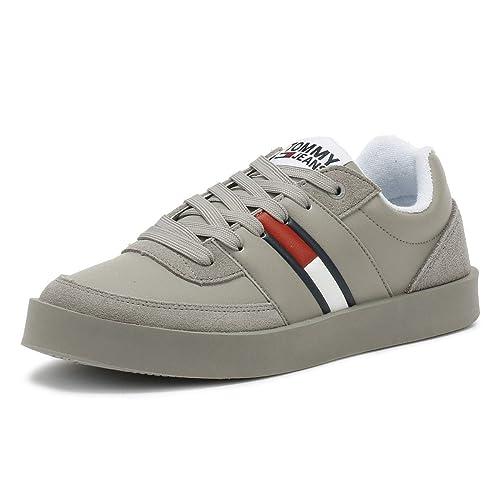 TOMMY HILFIGER DENIM Schuhe Boots grau Gr. EUR 43 UK