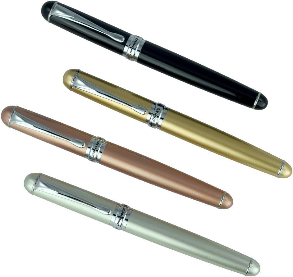 JinHao X750 Fountain Pen uses converter cartridge Silver presentation box