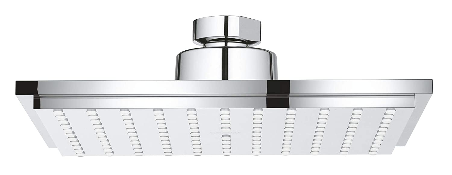 Grohe 27705000 Euphoria Cube Rain Shower head, 2.5 GPM, Starlight Chrome