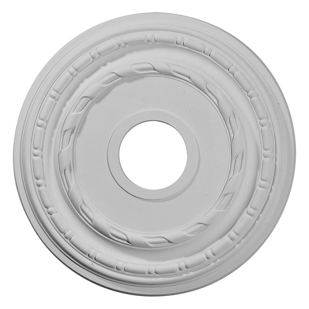 Ekena Millwork CM15DU 15 3/8-Inch OD x 3 5/8-Inch ID x 1-Inch Dublin Ceiling Medallion