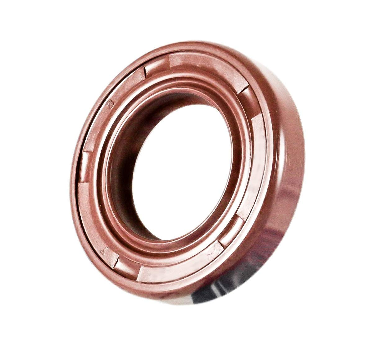 Metal Case w//Viton Rubber Coating TC Double Lip w//Stainless Steel Spring 6 PCS EAI VITON Oil Seal 20mm X 52mm X 10mm