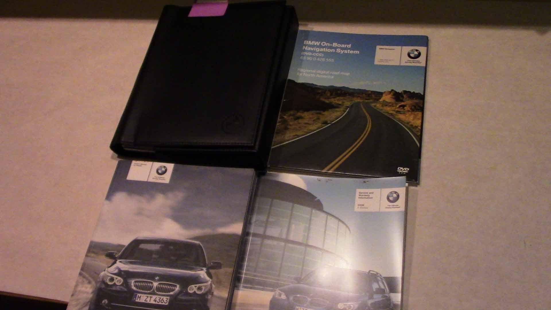 2008 bmw 5 series manual