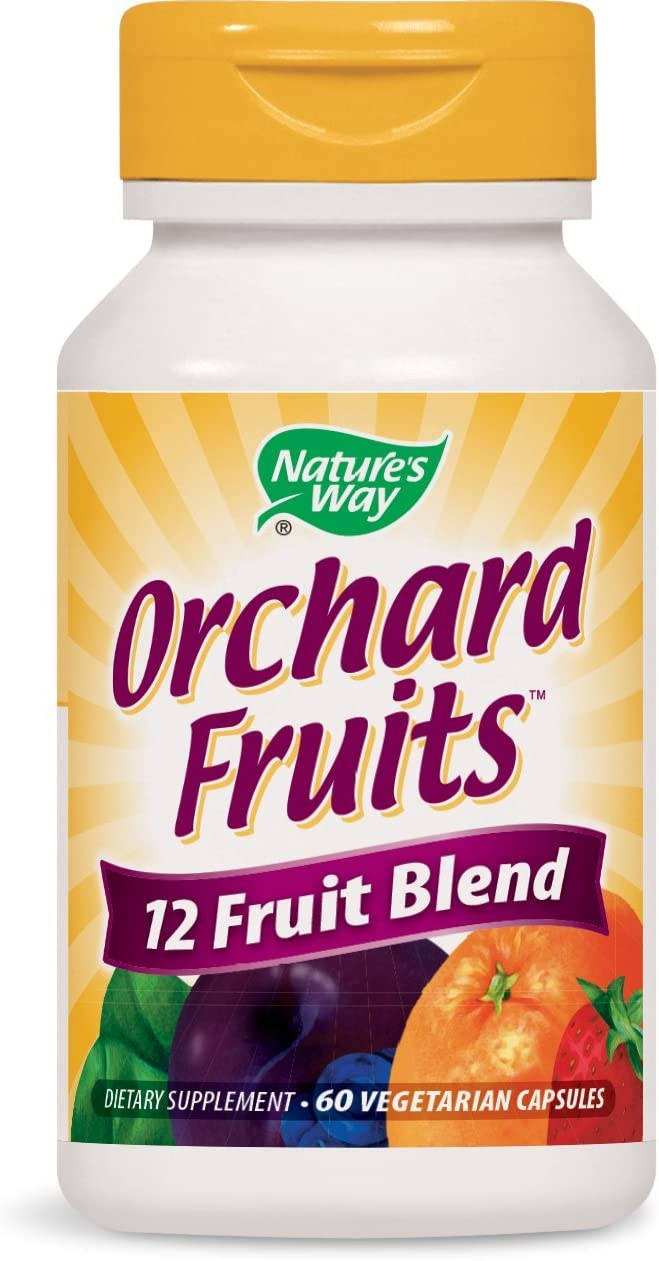 Nature's Way Orchard Fruits 12 Fruit Blend (900 mg per serving), 60 Vcaps