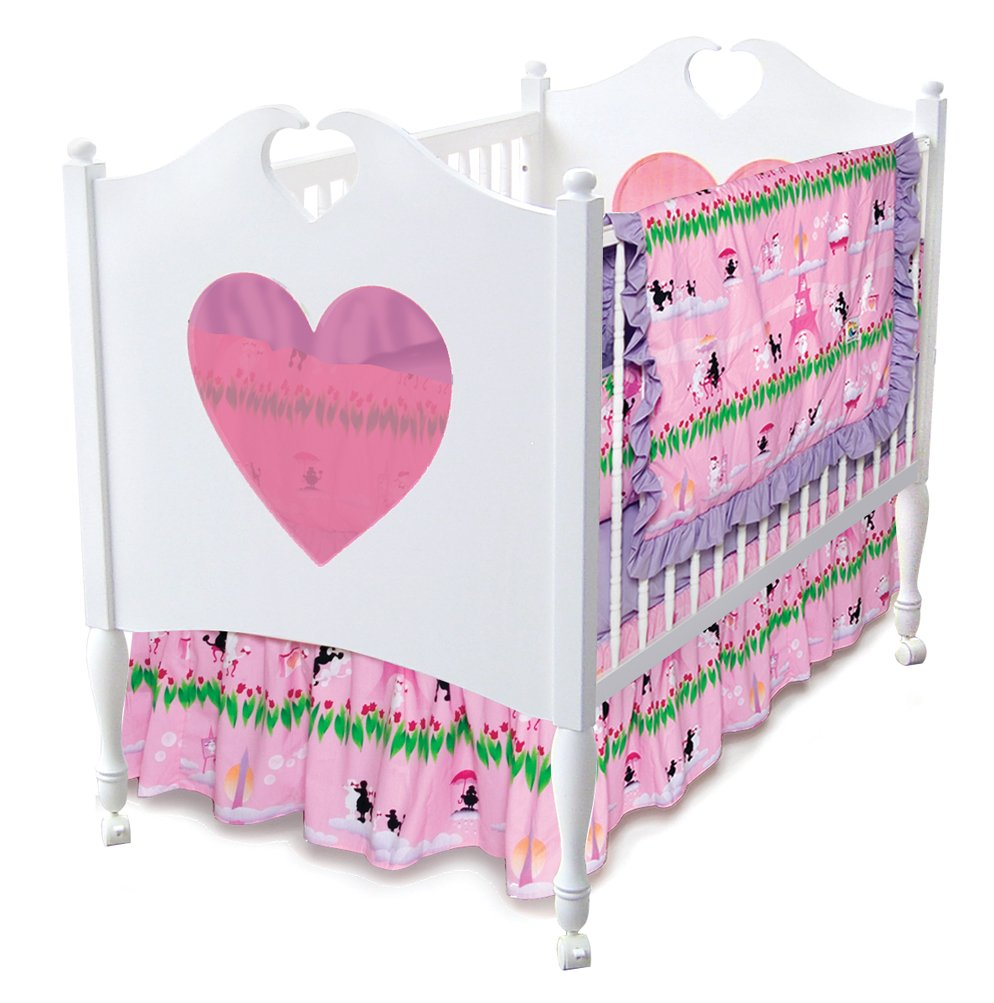 Room Magic 4 Piece Crib Set, Poodles In Paris by Room Magic   B001CWD8A4