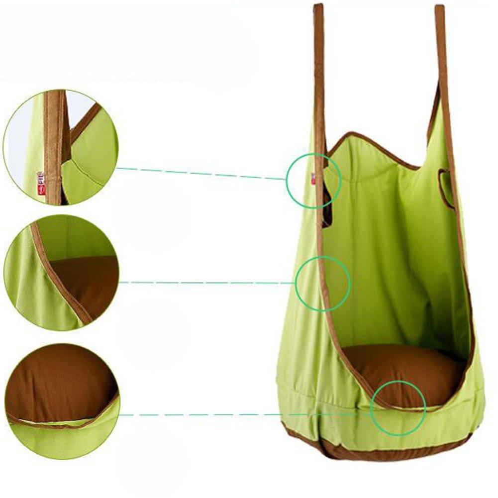 eggdel Frosch zum Aufhängen Pod Swing Sitz Innen blau und Outdoor Häng