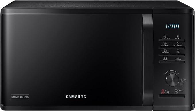 Samsung MG23K3515CK - Microondas (Countertop, Grill microwave, 23 ...