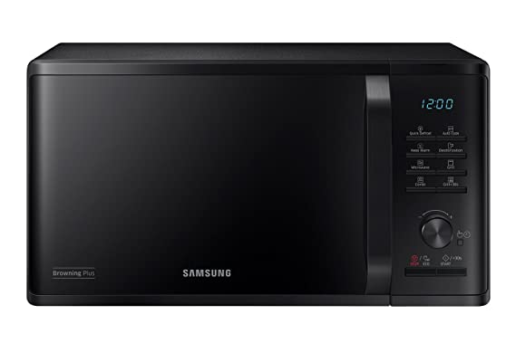 Samsung MG23K3515CK - Microondas (Countertop, Grill microwave, 23 ...