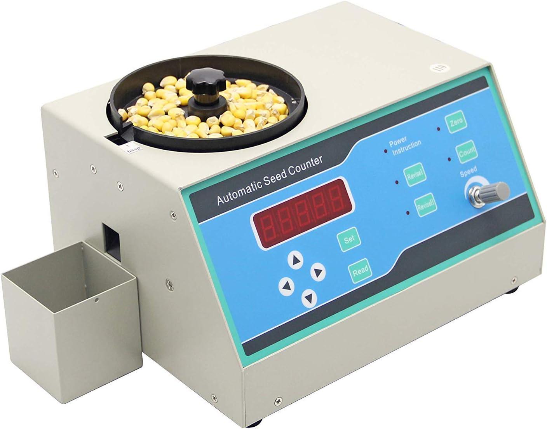 TOPQSC Contadora automática de semillas para diversas formas Semillas SLY-C