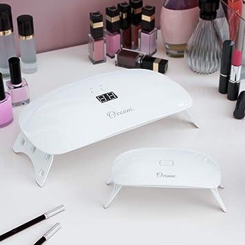 Blanc Source Double Sèche Nail Artamp; Led Electrique Portable En Types 2 Tous Et De Vernis Pour Uv Ovonni 1 48w Gels Ongles Lampe Rj35L4A