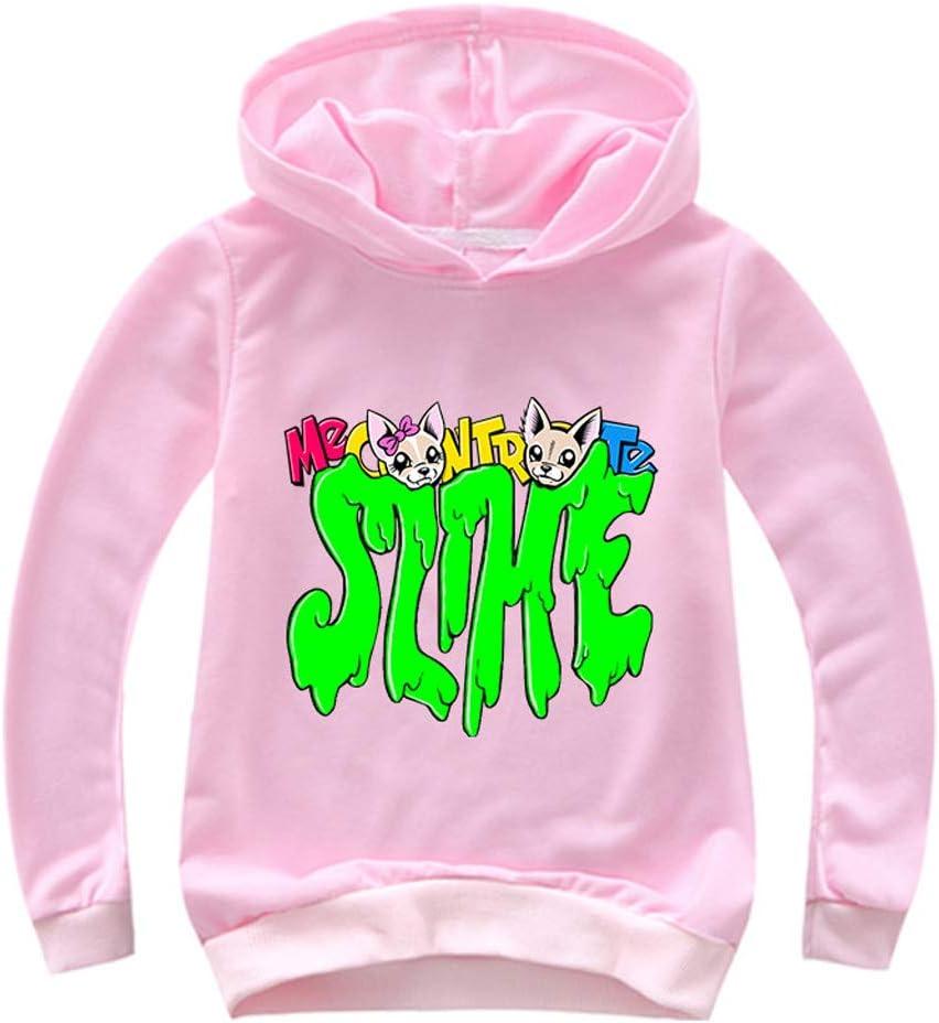 Felpe Sportiva Felpa con Cappuccio Bambino Bambina Unisex Casual Pullover Sweatshirt Maglia Ragazzi e Bambini Outfits Tops 003
