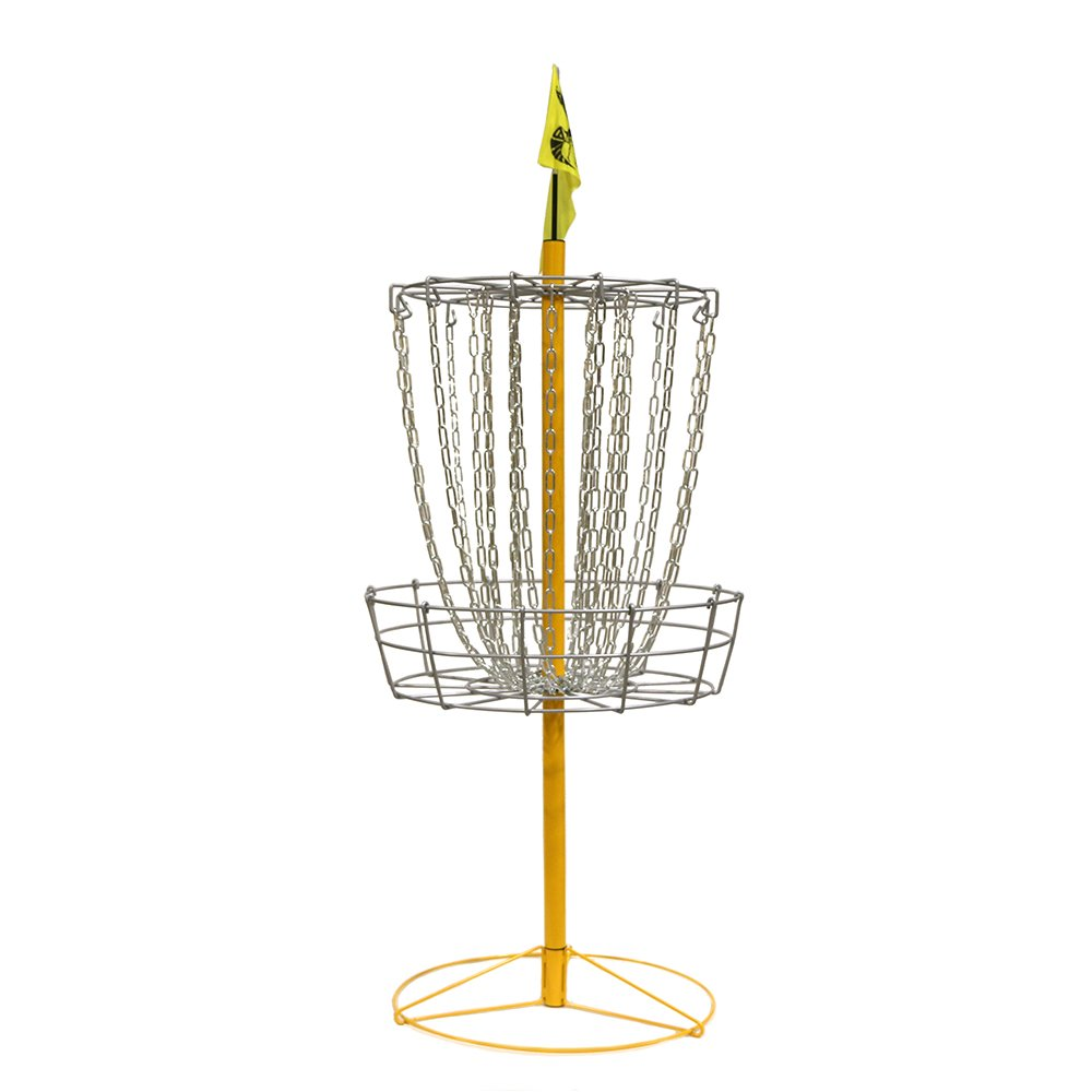 The Hive Disc Golf Practice Basket Double Chains by the Hive