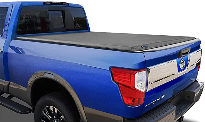 Fleetside 5 Bed for Models with or Without The Utili-Track System Tyger Auto T3 Tri-Fold Truck Bed Tonneau Cover TG-BC3N1028 Works with 2005-2019 Nissan Frontier; 2009-2014 Suzuki Equator