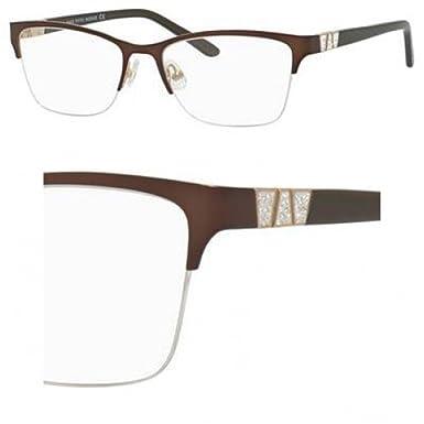3b63b60deafe7 Eyeglasses Saks Fifth Avenue 305 0FG4 Brown Gold  Amazon.co.uk  Clothing