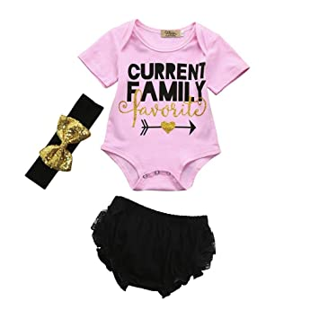 f591c90d78a Image Unavailable. Image not available for. Color  FEITONG 3pcs Toddler Baby  Kids Girls Letter Clothes ...