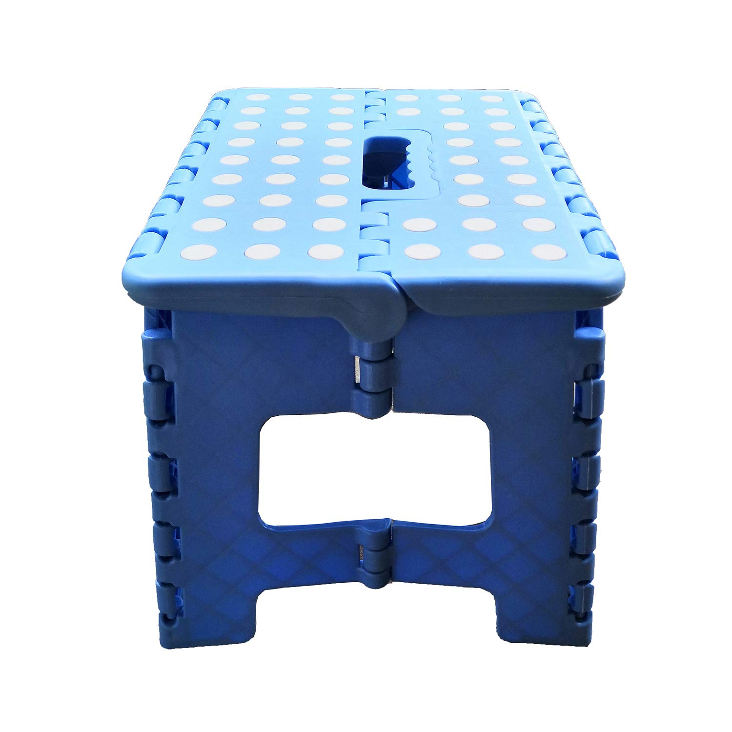 Blue ZLin Folding Step Stool with Handle Lightweight Sturdy and Safe Enough to Support Adults /& Kids Kitchen Garden Bathroom Stepping Stool Anti-Slip 9 x 11 Holds Up to 300 lbs