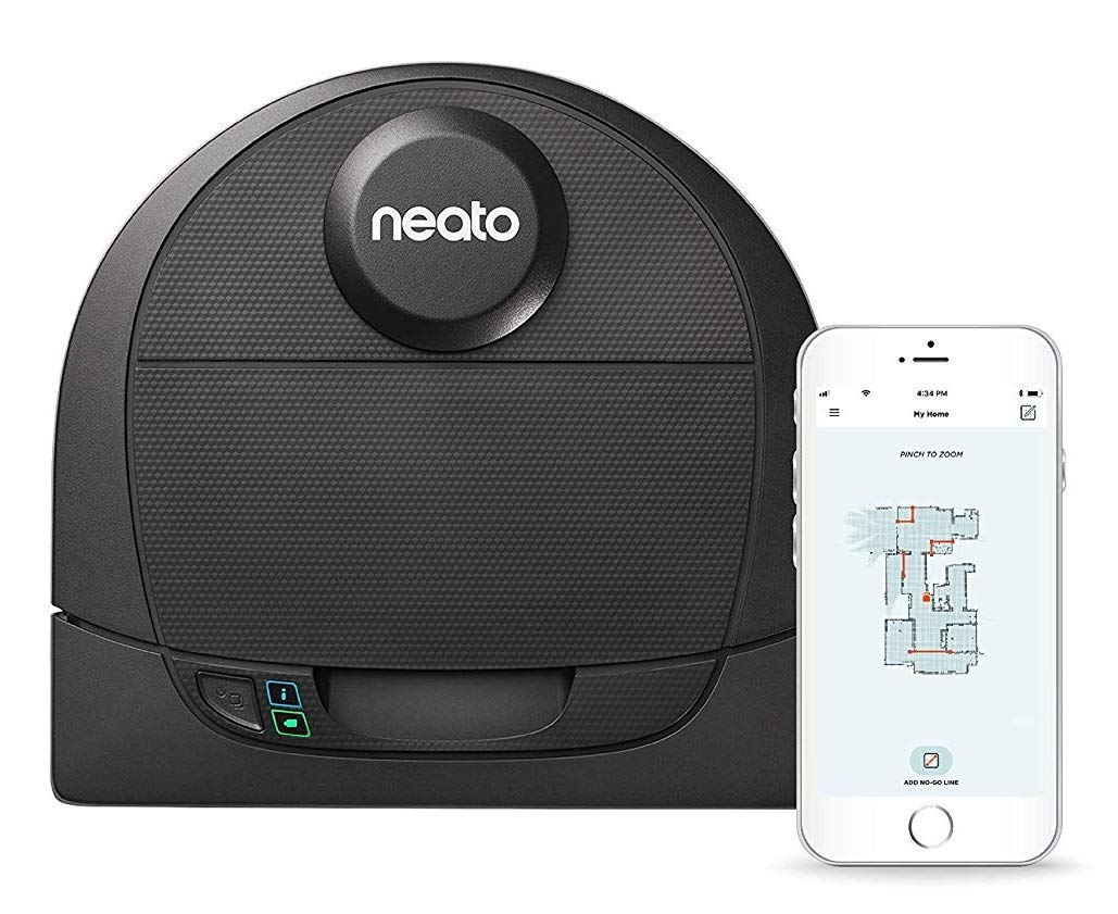 Neato Robotics D4 Connected Laser Guided Smart Robot
