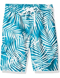 Boys' Palma Floral Swim Trunk