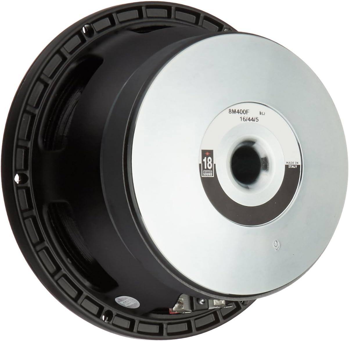 18 Sound 8M400 8 Woofer//250W//8OHMS Set of 1
