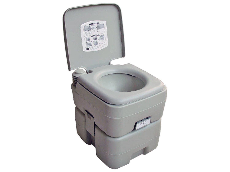Portable Camping Toilet : 5 gallon 20l camping portable potty toilet for outdoor caravan rv