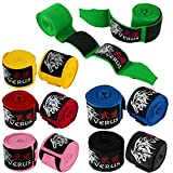 """Best Hand Wraps - VERUS Boxing Training Inner MMA Hand Wraps 180"""" Review"""