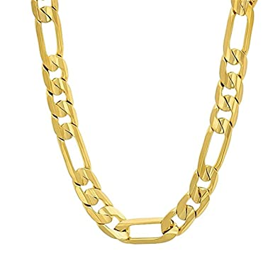 77d1c037472ad Xoonic's New Design Statement Gold plated chain necklace 5 mm thick ...