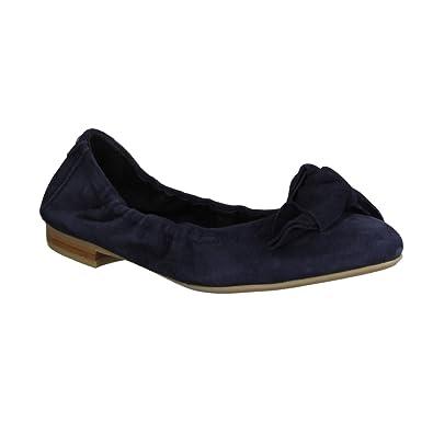 9986412b7132 Donna Carolina 37.170.020- Damenschuhe Modische Pumps Ballerina, Blau, leder