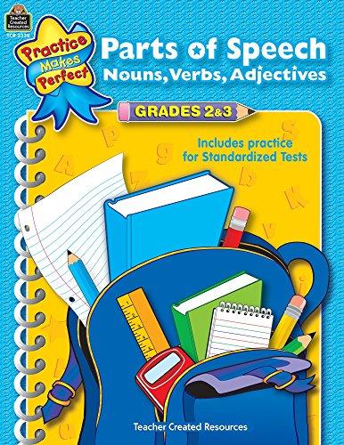Parts of Speech Grades 2-3 (Language Arts)
