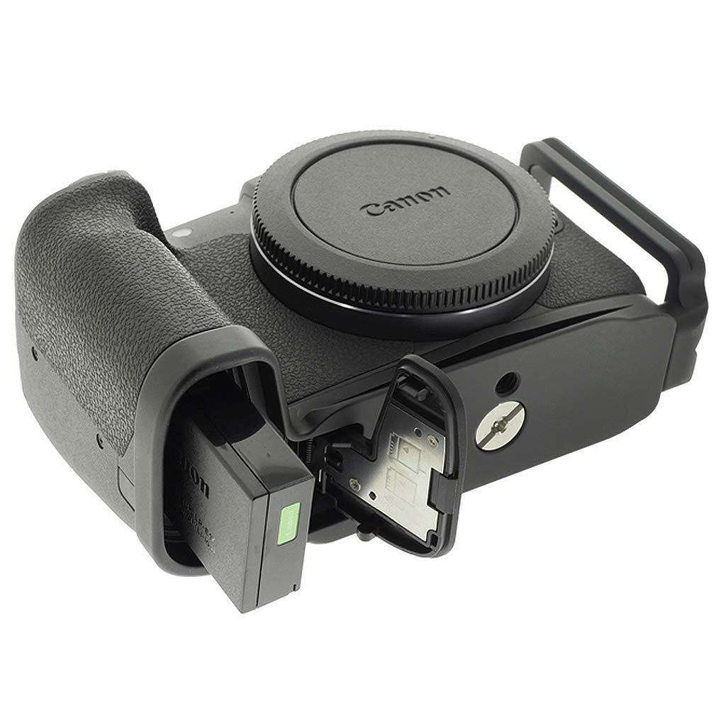L a forma di metallo verticale L Rilascio Rapido Piastra Monte//Quick release plate Mount Staffa fotocamera per Canon EOS RP
